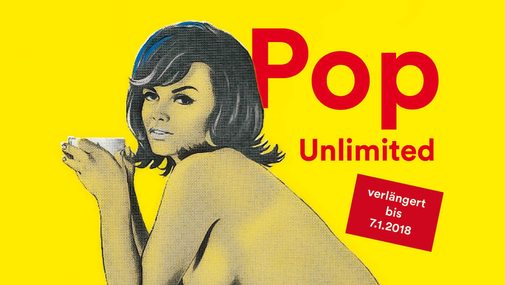 Pop Unlimited Hauptmotiv von Mel Ramos