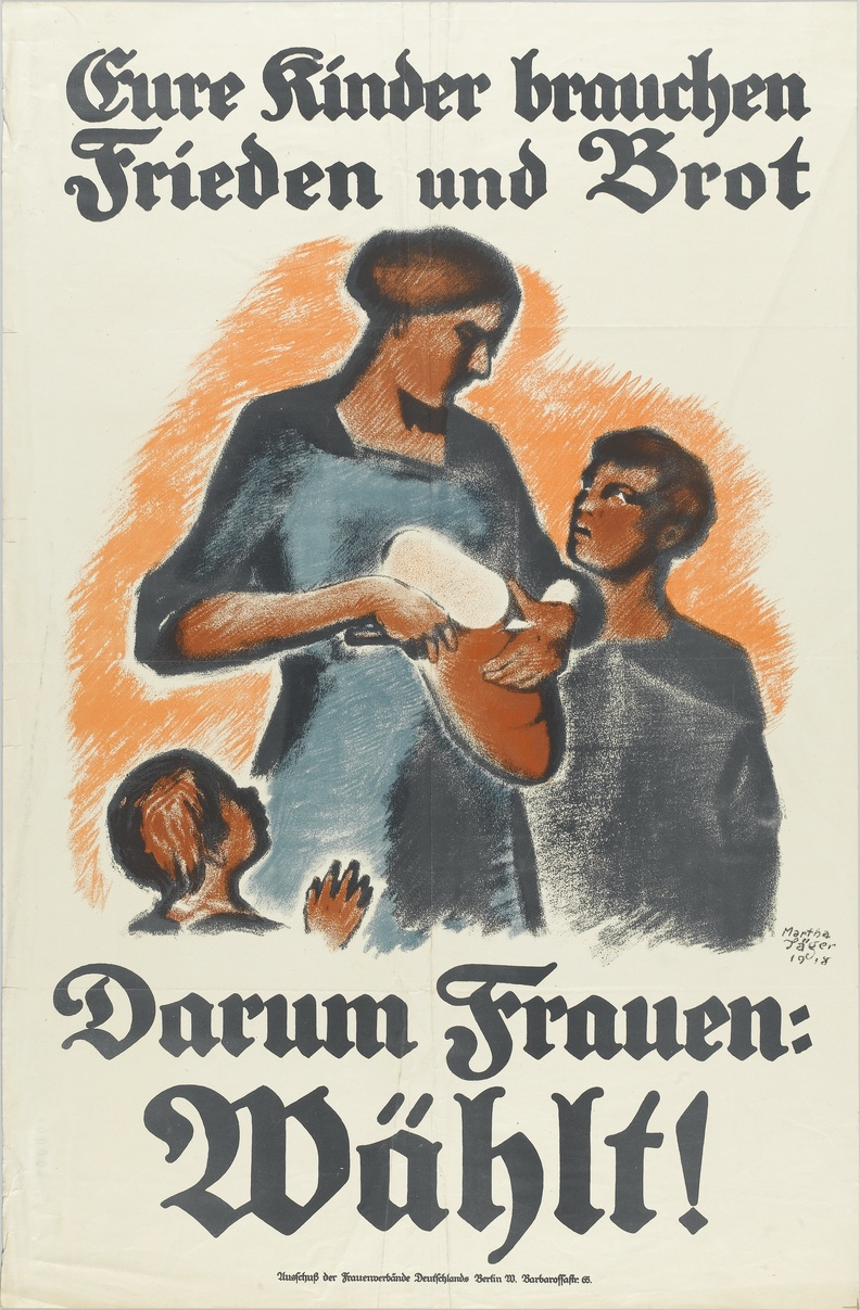 100 years of women's suffrage /posters of our collection